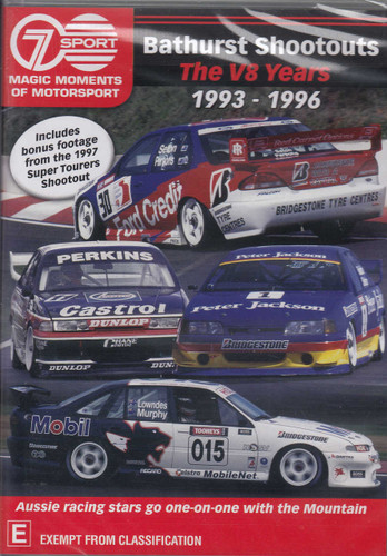 Bathurst Shootouts - The V8 Years 1993 - 1996 DVD (9340601001893)