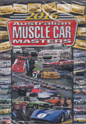 2016 Australian Muscle Car Masters DVD (9340601001770)