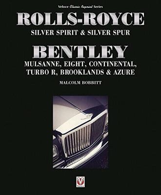 Rolls-Royce Sliver Spirit & Sliver Spur Bentley Mulsanne, Eight Classic Reprint Series