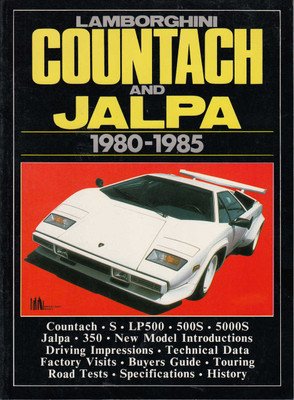 Lamborghini Countach And Jalpa 1980-1985 Road Tests (B004H3IOJ0)