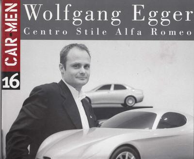 Wolfgang Egger Centro Stile Alfa Romeo (Car Men Series No 16) (9788879601573)