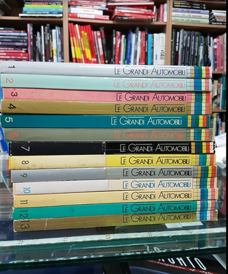 Le Grandi Automobili Set (Volumes 1 - 13)