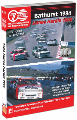 Magic Moments of Motorsport - Bathurst 1982 - James Hardie 1000 DVD