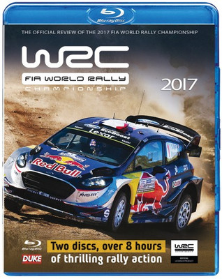 WRC FIA World Rally Championship 2017 Blu-Ray
