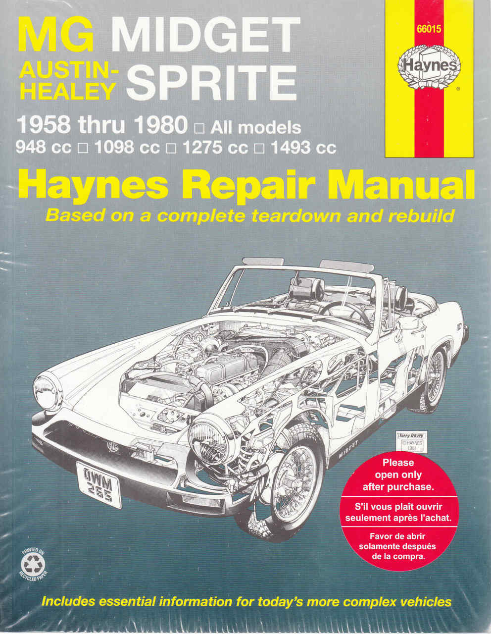 mg midget service manual download
