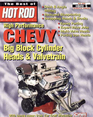 High Performance Chevy Big Block Cylinder Heads and Valvetrain - covers How to