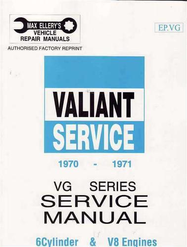 valiant vg series 1970 1971 workshop manual rh automotobookshop com au vg valiant workshop manual download vg valiant workshop manual download