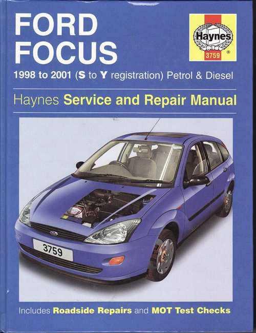 ford focus 1998 2001 workshop manual rh automotobookshop com au Professional Workshop Manuals Professional Workshop Manuals