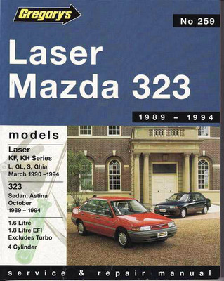 Ford Laser & Mazda 323 1989 - 1994 Workshop Manual