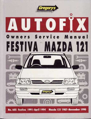 Ford Festiva & Mazda 121 1987 - 1994 Workshop Manual