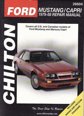 Ford Mustang | Capri 1979 - 1988 Workshop Manual