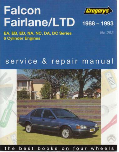 ford falcon fairlane ltd 1988 1995 workshop manual. Black Bedroom Furniture Sets. Home Design Ideas