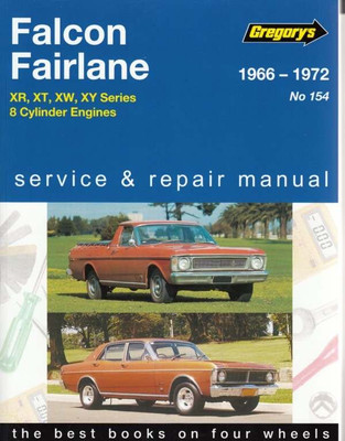 Ford Falcon Fairlane 1966 - 1972 Workshop Manual