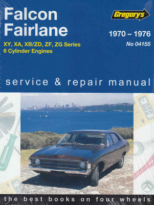 Ford Falcon, Fairlane  6 Cylinder Engines 1970 - 1976 Workshop Manual - front