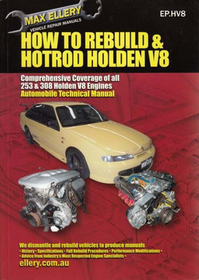 How To Rebuild & Hotrod Holden V8 253 and 308 Engines