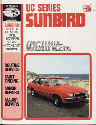 Holden Sunbird UC Series 1978 - 1979 Workshop Manual