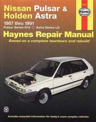 pulsar & holden astra 1987 - 1991 workshop manual, Wiring diagram