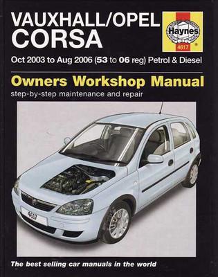 Holden Barina (Vauxhall - Opel Corsa) 2003 - 2006 Petrol, Diesel Workshop Manual