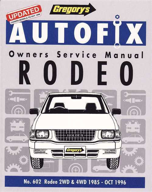Holden Rodeo 1985