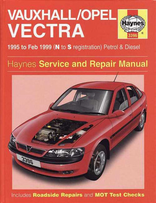Holden Vectra 1995 - 1999 Workshop Manual