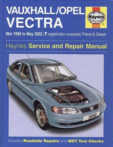 holden vectra  vauxhall  opel  1999 2002 workshop manual