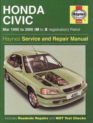 Honda Civic 1995 - 2000 Workshop Manual