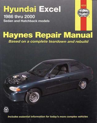 Hyundai excel service guide