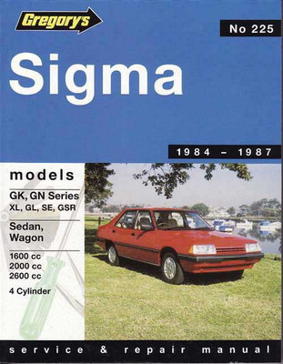 Mitsubishi Sigma 1984 - 1987 Workshop Manual