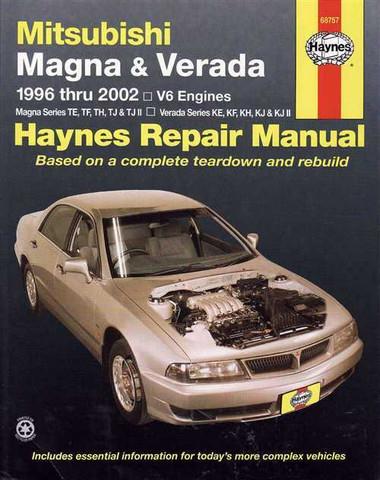 Mitsubishi magna ts workshop manual