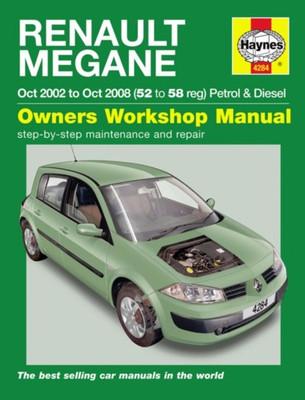 Renault Megane Petrol & Diesel 2002 - 2008 Workshop Manual