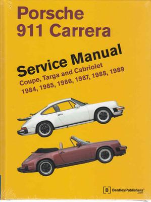 Porsche 911 Carrera 1984 - 1989 Workshop Manual