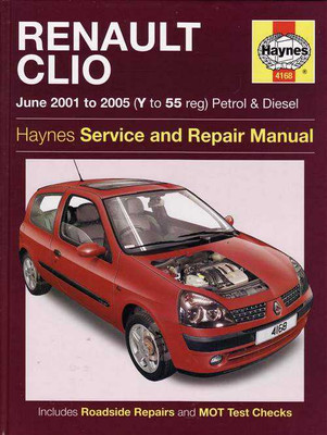 Renault Clio 2001 - 2005 Workshop Manual