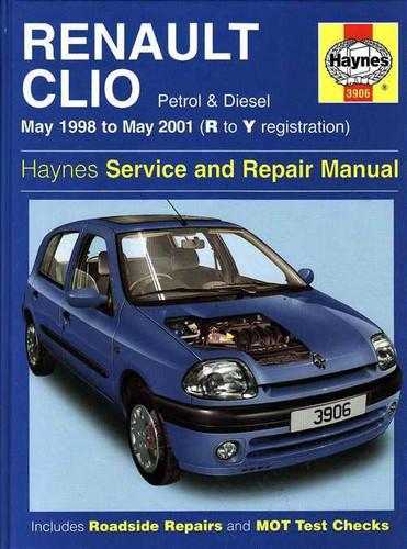 Renault Clio 1998 2001 Workshop Manual border=