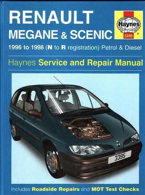 Renault Megane & Scenic 1996 - 1998 Workshop Manual