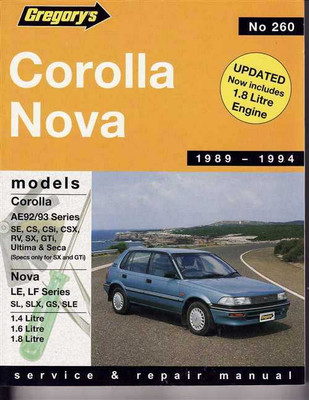 holden nova workshop manual pdf