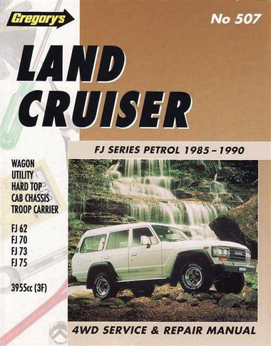 Toyota Land Cruiser FJ Series 1985 - 1990 Workshop Manual
