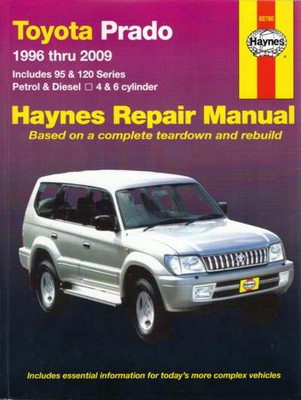 Toyota Prado 1996 - 2006 Workshop Manual