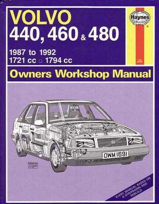 volvo 440 460 480 1987 1992 workshop manual rh automotobookshop com au 1990 Volvo 740 Wagon 1992 Volvo Wagon