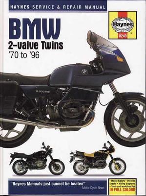 BMW 2-Valve Twins R Series 1970 - 1996 workshop manual