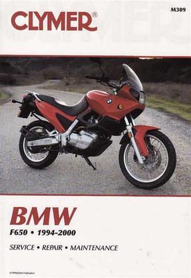 BMW F650 1994 - 2000 Workshop Manual