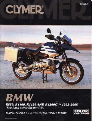 BMW R850, R1100, R1150 & R1200C 1993 - 2005 Workshop Manual