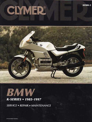 BMW K-Series 1985 - 1997 Workshop Manual