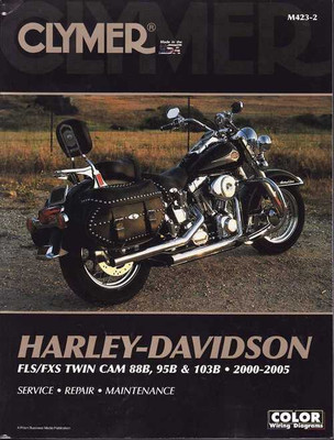 Harley-Davidson FLS/FXS TWIN CAM 88B 95B and 103B 2000 - 2005 Workshop Manual