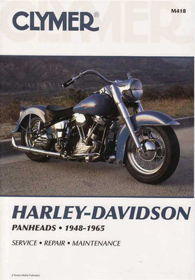 Harley-Davidson Panheads 1948 - 1965 Workshop Manual
