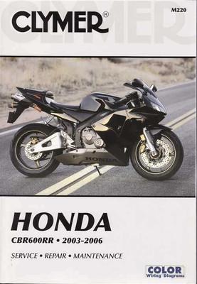 Honda CBR600RR 2003 - 2006 Workshop Manual