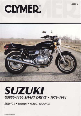 Suzuki GS850, GS1000, GS1100 Shaft Drive 1979 - 1984 Workshop Manual
