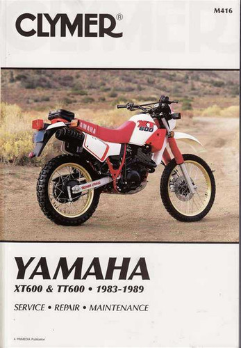 xt tt workshop manual yamaha xt600 tt600 1983 1989 workshop manual