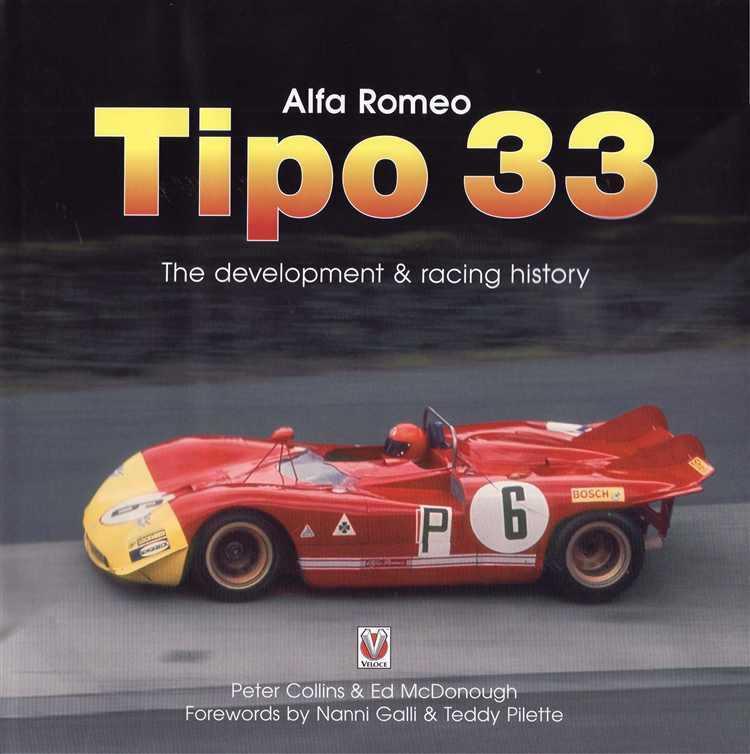 alfa romeo tipo 33 the development racing history alfa romeo tipo 33 the development racing history