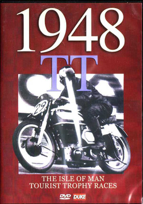 1948 TT The Isle of Man Tourist Trophy Races DVD