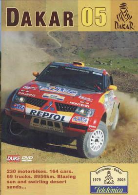 The Dakar Rally 2005: The Ultimate Racing Adventure DVD